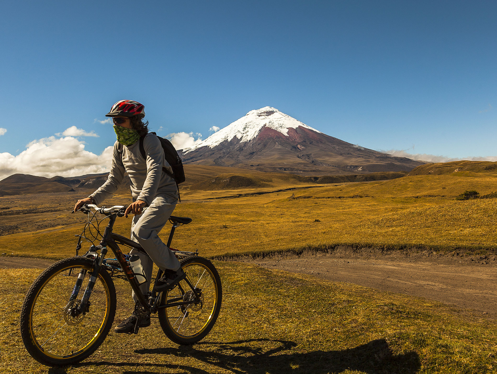 Cotopaxi Downhill Biking