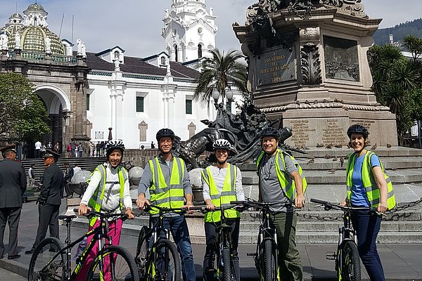 Ecuador - Quito City Tour by bike
